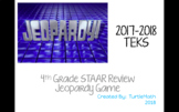 NEW - 2018 4th Grade STAAR Jeopardy Game 2018