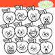 Apple Faces Clipart Emotions Emoticons Expressions Fun Clipart Clip Art