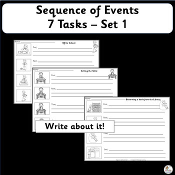 Sequence of Events - 7 Events - Set 1    SASSOON Font