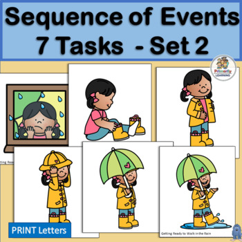 Sequence of Events - 7 Events - Set 2