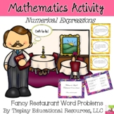 Fancy Restaurant Math Calculations Simple Numerical Expressions