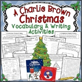 A Charlie Brown Christmas * Book/Movie Vocabulary and Writ