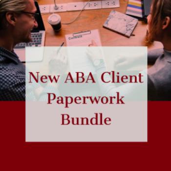 NEW ABA CLIENT PAPERWORK BUNDLE