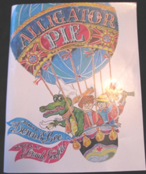 NEW BOOK ALLIGATOR PIE POEMS Dennis Lee (Includes shipping)