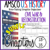 AMSCO U.S. History Graphic Organizer Chapter 13, 14, 15 (Civil War Era)