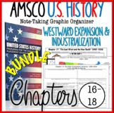 NEW! AMSCO U.S. History Graphic Organizer Chapter 16, 17, 18 (Industrialization)