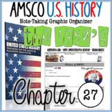 NEW! AMSCO U.S. History Graphic Organizer Chapter 27 (Eisenhower & the 1950's)
