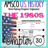 NEW! AMSCO U.S. History Graphic Organizer Chapter 30 (Conservative Resurgence)