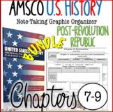 NEW! AMSCO U.S. History Graphic Organizer Chapter 7, 8, &