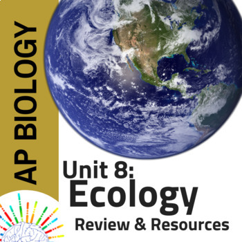 AP Biology Complete Review plus Resources for Unit 8: Ecology
