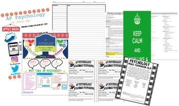 NEW AP PSYCHOLOGY Teacher Survival Guide Syllabus & More