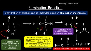 NEW AQA Yr1 Alcohols Revision