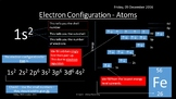 NEW AQA Yr1 Atomic Structure and Ionisation Revision