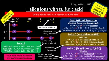 NEW AQA Yr1 Group 7, The Halogens Revision