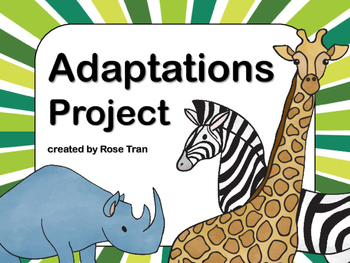 NEW  Adaptations Project NO PREP!