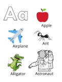 NEW! Alphabet Picture Cards