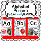 Printable Alphabet Posters with REAL Photos (Beginning Sounds)