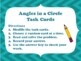 NEW  Angles in a Circle Task Cards (4.7A, 4.7B & 4.MD.C.5.