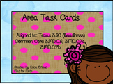 NEW! Area Task Cards 3.6C, 3.MD.C.6, 3.MD.C.7a, 3.MD.C.7b