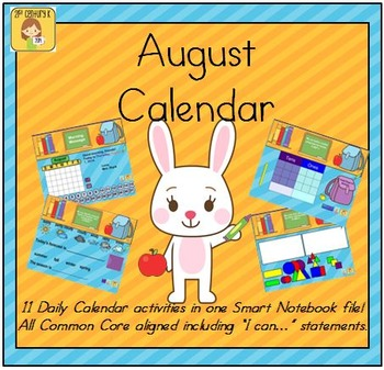 August Smart Bundle for Kindergarten