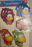 16 BIRDS+16 NESTS NEW CUT-OUT BUDDIES bulletin board set Classroom Management