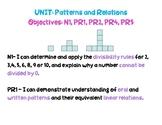 NEW BRUNSWICK GRADE 7 MATH OBJECTIVES- organized by unit