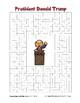 75% OFF!NEW BUNDLE! Trump! 13 Presidents-Search, Scramble, Maze(color&blackline)