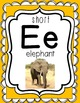 Printable Short Vowel Sounds Posters with Real Photos