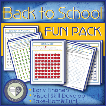 Back to School Activity Fun Pack