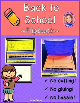 NEW Back to School DOUBLE-SIDED Flipbook!