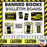 NEW! Banned Books Display, Printable Library Bulletin Board Ideas