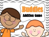 NEW  Buddies Addition Game (Adding numbers to 20) Aligned to 1.3B and 1.OA.C.6)