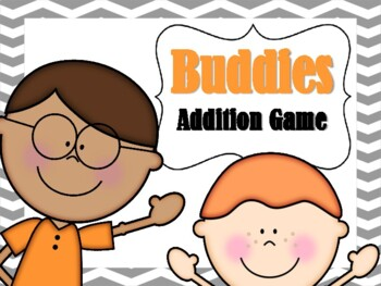NEW  Buddies Addition Game (Adding numbers to 20) Aligned