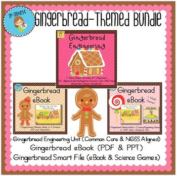 Bundled Primary STEM Theme - Gingerbread Engineering