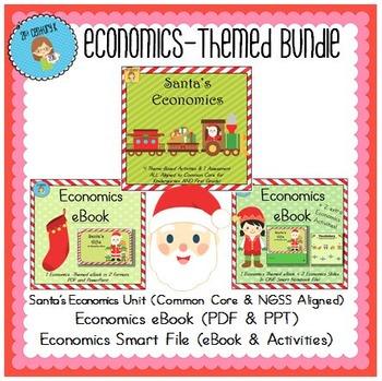 Bundled Primary Theme - Santa's Economics
