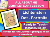 NEW CLASS/ ALL ABOUT ME -  Lichtenstein Portraits-  COMPLE