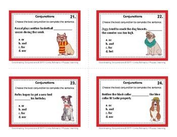 COORDINATING CONJUNCTIONS • GRADES 3–5