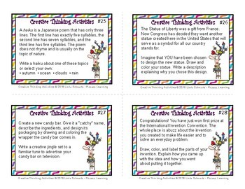 NEW! CREATIVE THINKING SKILLS • GRADES 4–6