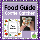 NEW Canadian Food Guide Cootie Catcher