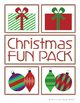 Christmas Activity Fun Pack