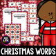 Christmas Word Builder, English, Spelling, Activities, Winter, December