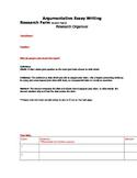 Ultimate Common Core Aligned Argumentative Essay Outline G