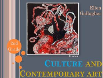 Elementary Art Lesson: Contemporary Art Cross Curricular S