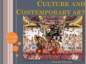 Upper Elementary Art Lesson: Contemporary Art Mixed Media
