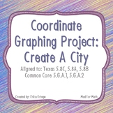 NEW Coordinate Graphing Project Create a City 5.8C 5.8A 5.8B 5.G.A.1 5.G.A.2