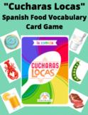 "Spanish Food Vocabulary: Spoons Card Game (""Cucharas Locas"")"