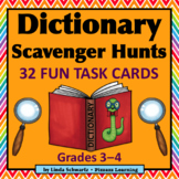 DICTIONARY SCAVENGER HUNTS • GRADES 3–4