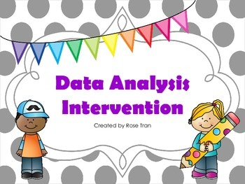 NEW  Data Analysis Intervention (TEKS 4.9A,4.9B,5.9A,5.9B,5.9C)