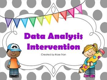 NEW  Data Analysis Intervention (TEKS 4.9A,4.9B,5.9A,5.9B,5.9C)
