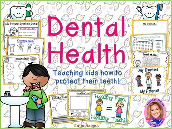 NEW Dental Health Pack: How Do We Take Care of Our Teeth?